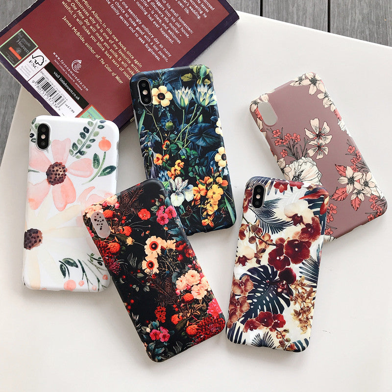 iPhone Case—Colour Flower(For iphone XR XS Max X 6 6S 7 8 Plus 11 11Pro Max)