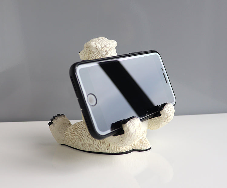 Polar bear phone holder(2 polar bear are a set)