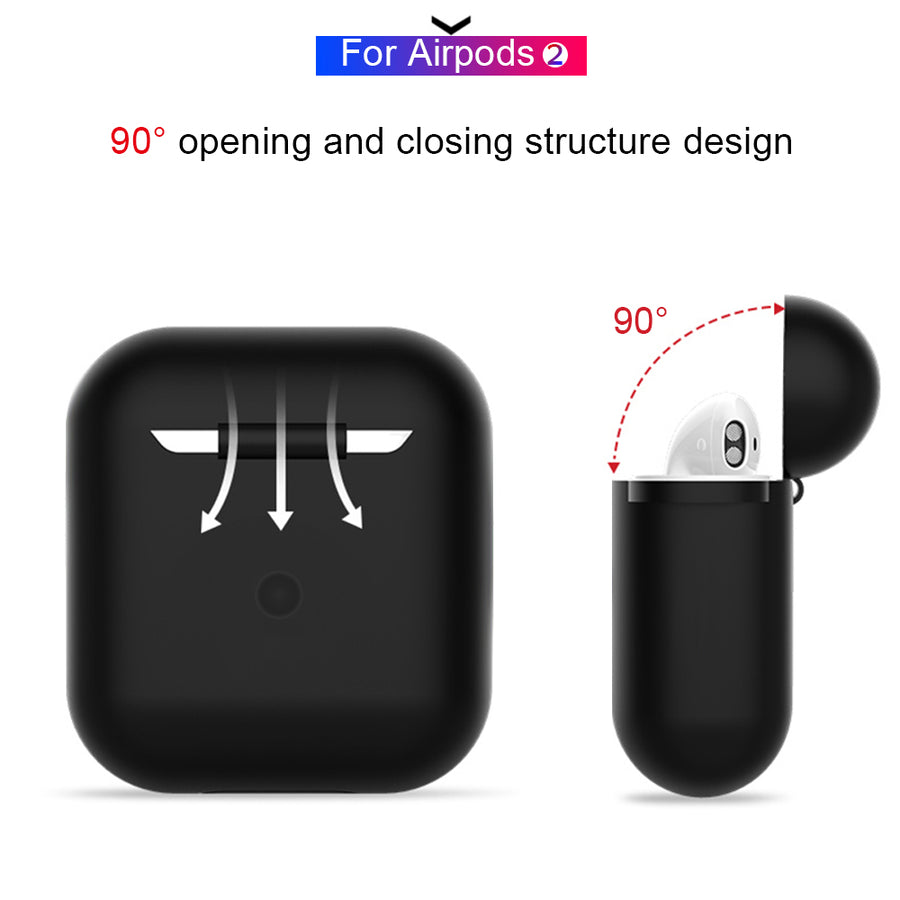 Earphone Case For Apple AirPods 2 1 Silicone Cover