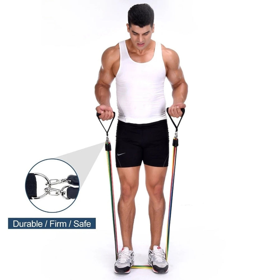 Resistance Bands Set Pro™ (11 Piece Set)