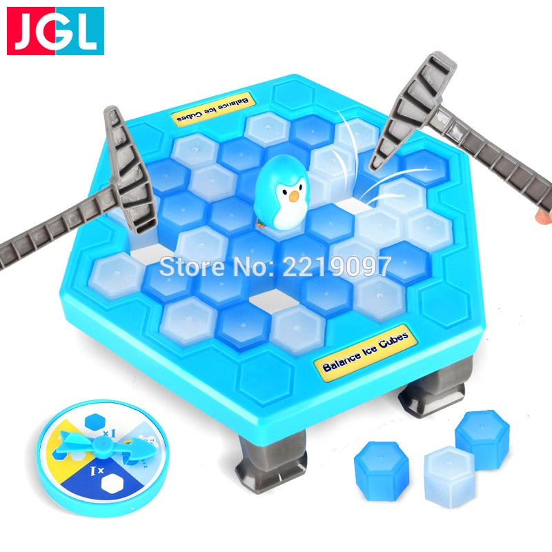 Penguin Ice Breaking Save The Penguin Great Family Toys Gifts Desktop Game Fun Game Who Make The Penguin Fall Off Lose This Game