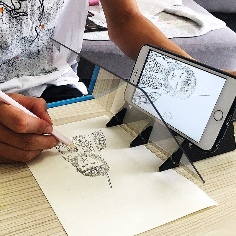 Hot Sale Mobile phone holder Sketch Wizard Tracing Drawing Board Optical Draw Projector Painting Reflection Tracing Line Table
