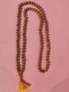 Sandalwood Mala Beads - Face Yoga Ireland