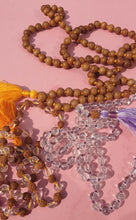 Load image into Gallery viewer, Crystal Quartz 108 Mala Beads - Face Yoga Ireland