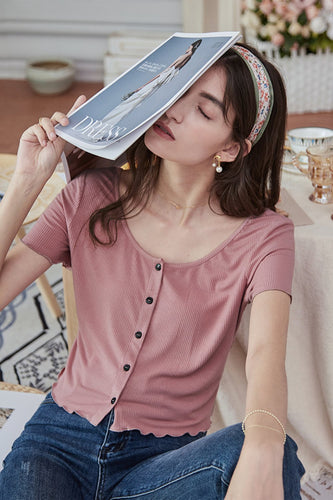 Blush Stricken Tops