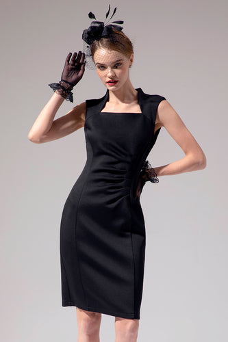 Schwarzes Bodycon Mutter Kleid