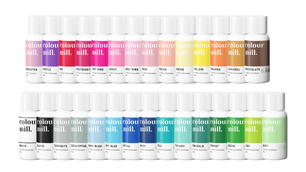 Oil Based Colouring 29 Pack Full Set
