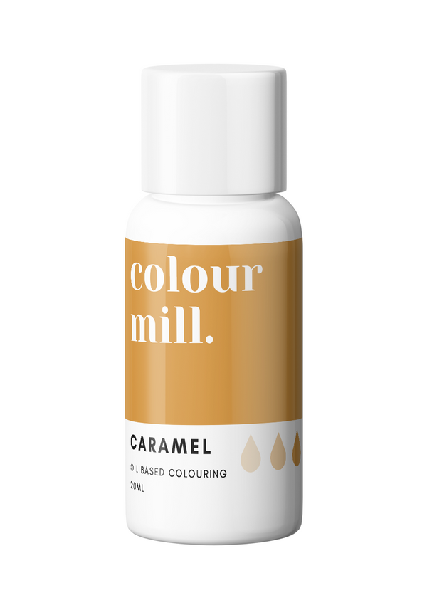 Oil Based Colouring 20ml Caramel