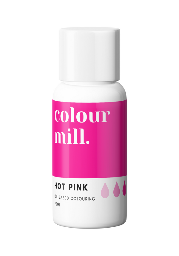 Oil Based Colouring 20ml Hot Pink