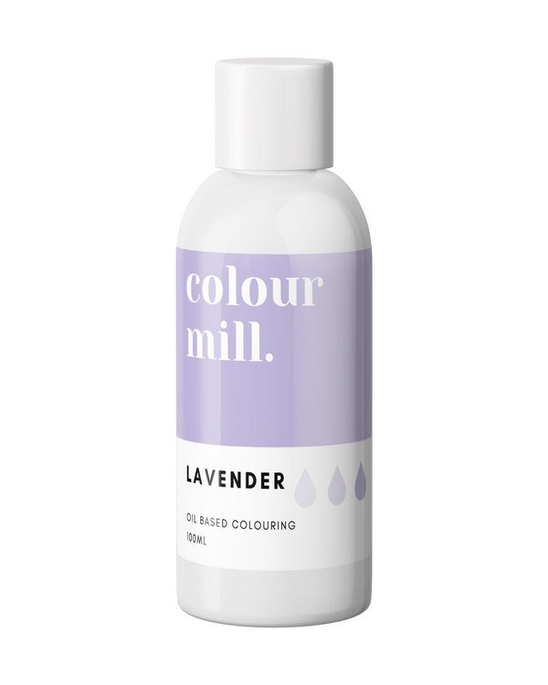 Oil Based Colouring 100ml Lavender