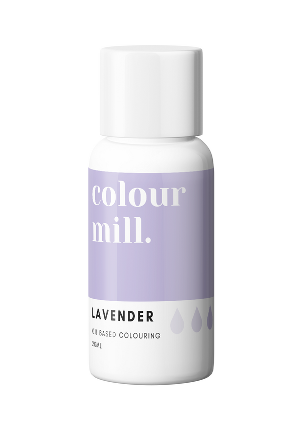 Oil Based Colouring 20ml Lavender