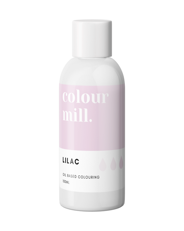 Oil Based Colouring 100ml Lilac