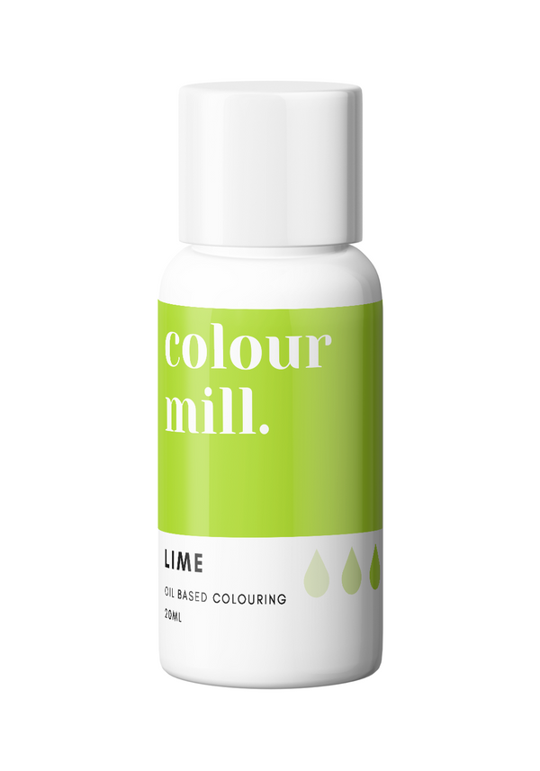 Oil Based Colouring 20ml Lime