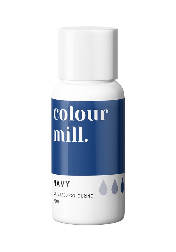 Oil Based Colouring 20ml Navy
