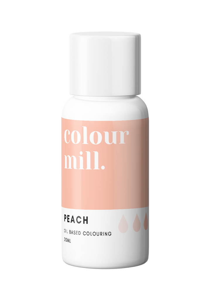 Oil Based Colouring 20ml Peach