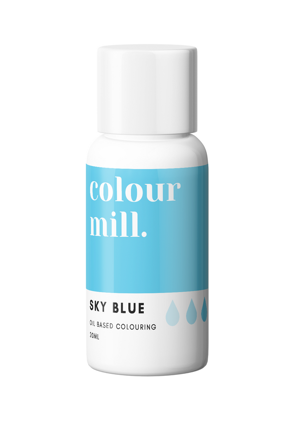 Oil Based Colouring 20ml Sky Blue