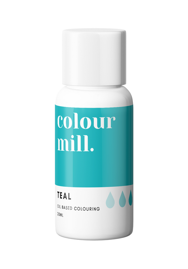 Oil Based Colouring 20ml Teal