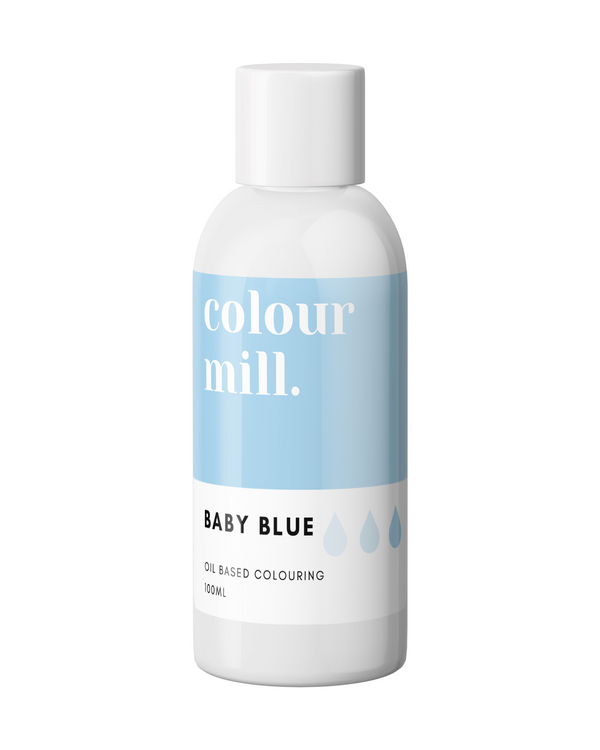 Oil Based Colouring 100ml Baby Blue