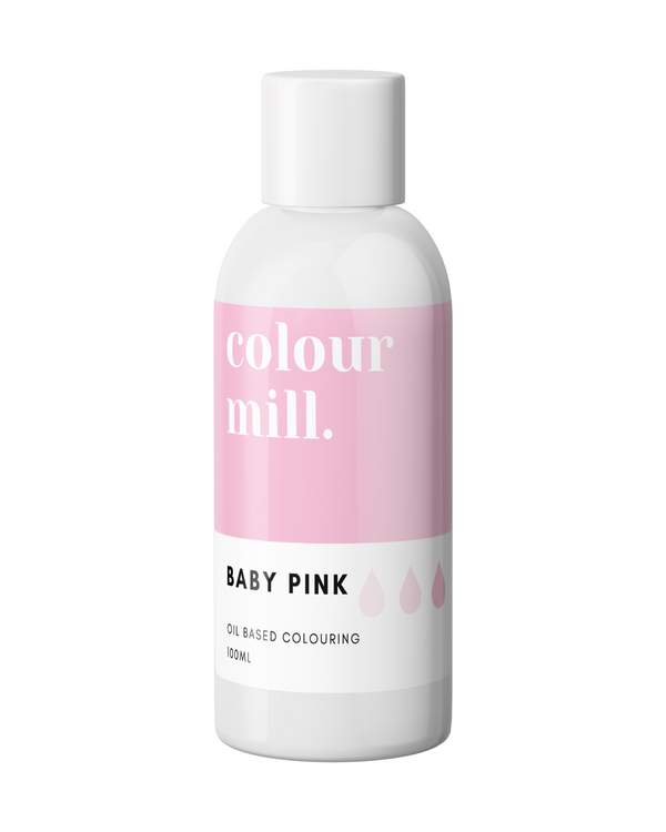 Oil Based Colouring 100ml Baby Pink