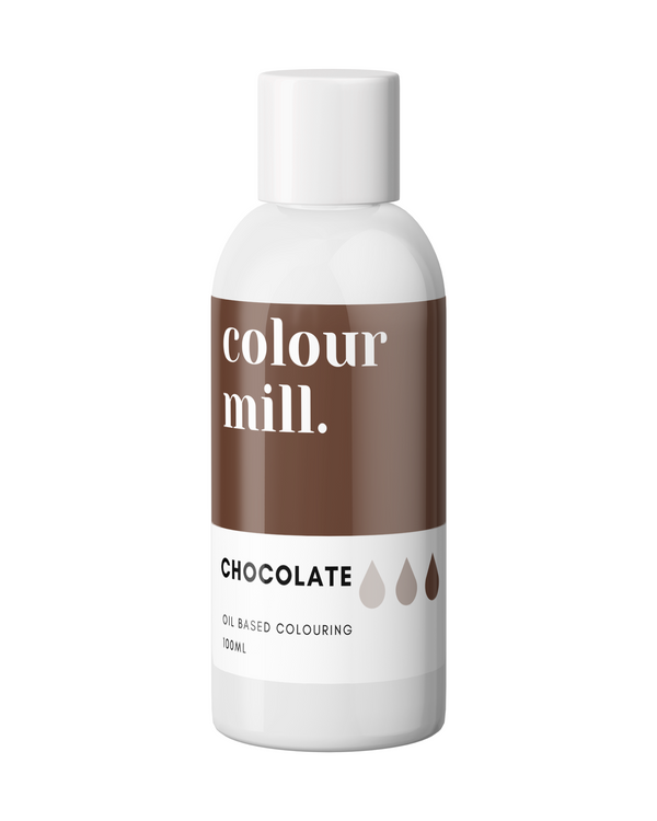 Oil Based Colouring 100ml Chocolate