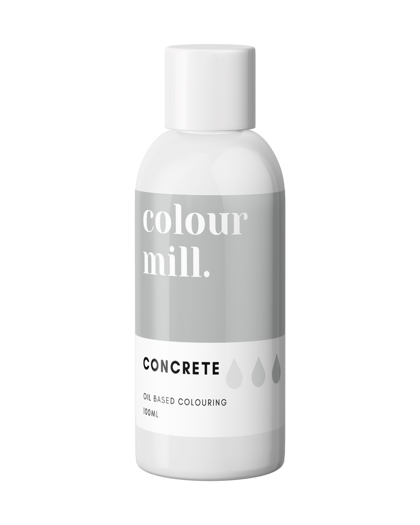 Oil Based Colouring 100ml Concrete