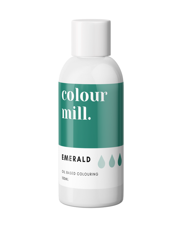 Oil Based Colouring 100ml Emerald