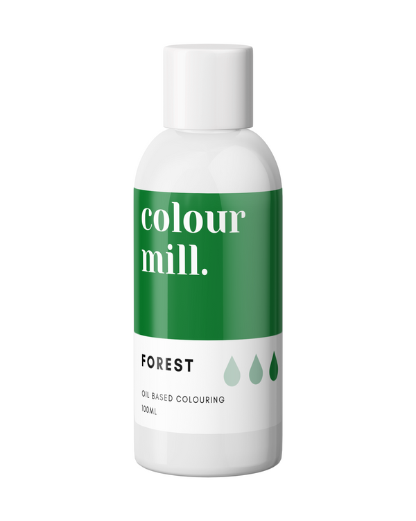 Oil Based Colouring 100ml Forest