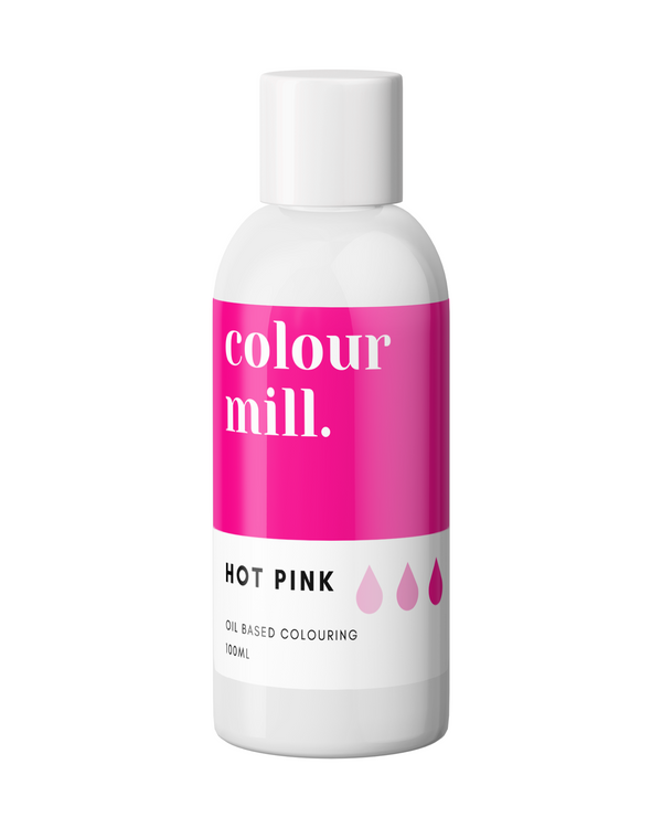 Oil Based Colouring 100ml Hot Pink