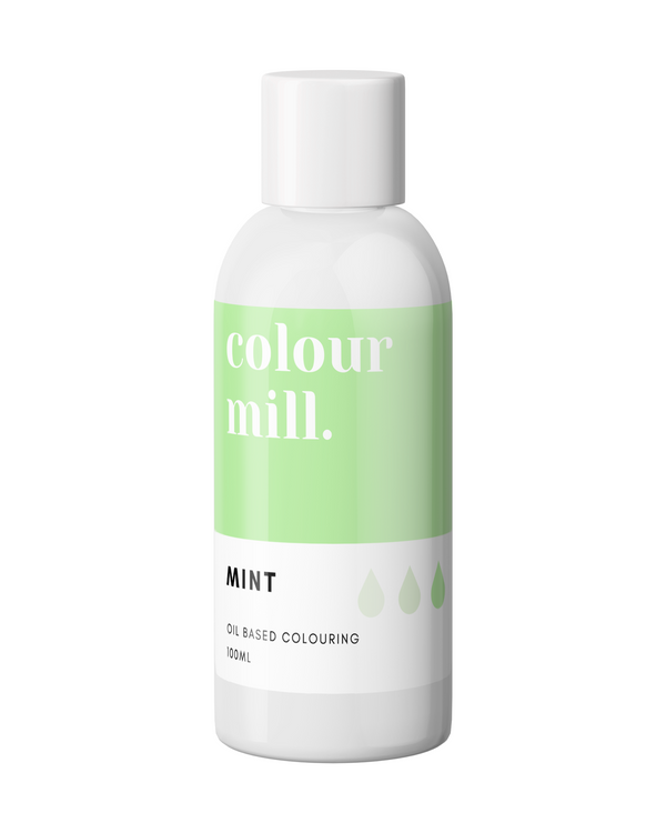 Oil Based Colouring 100ml Mint
