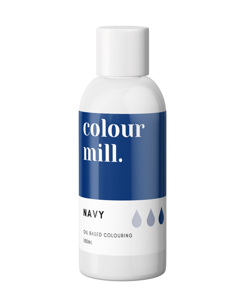 Oil Based Colouring 100ml Navy