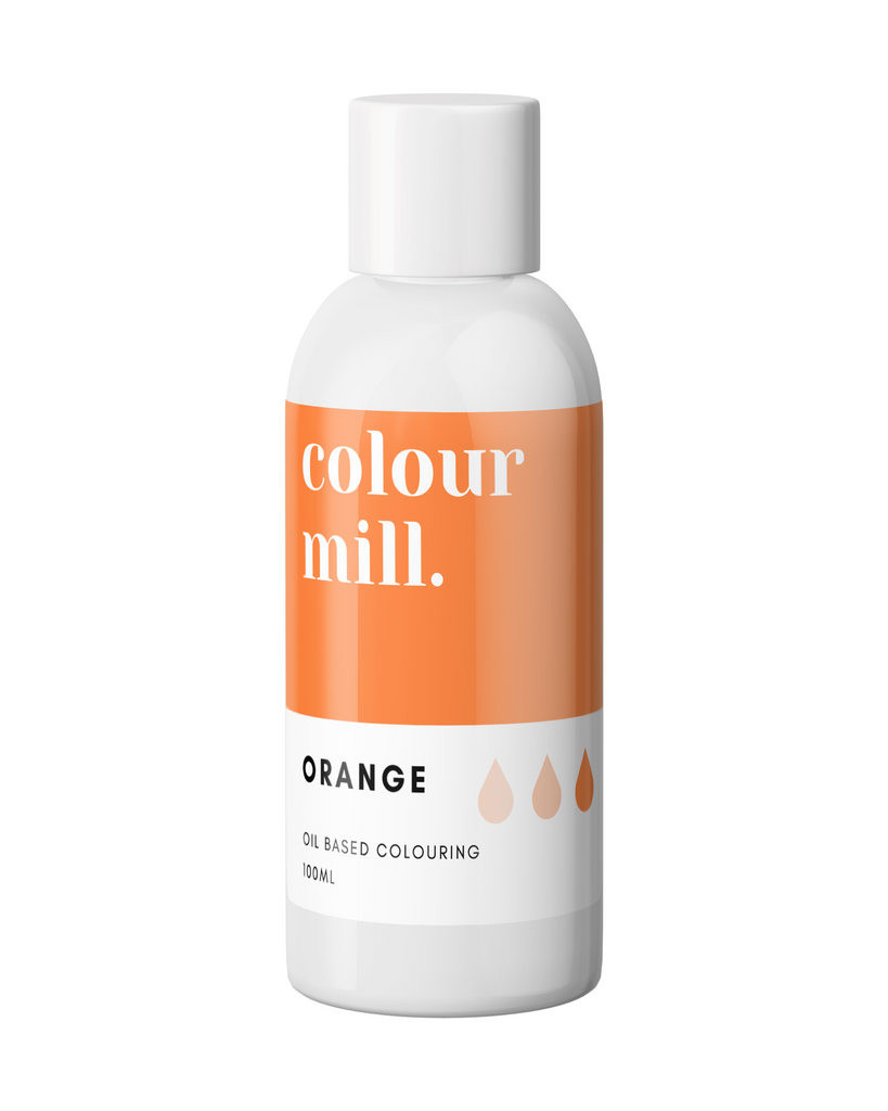Oil Based Colouring 100ml Orange