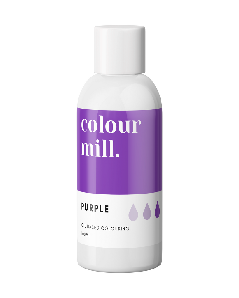 Oil Based Colouring 100ml Purple