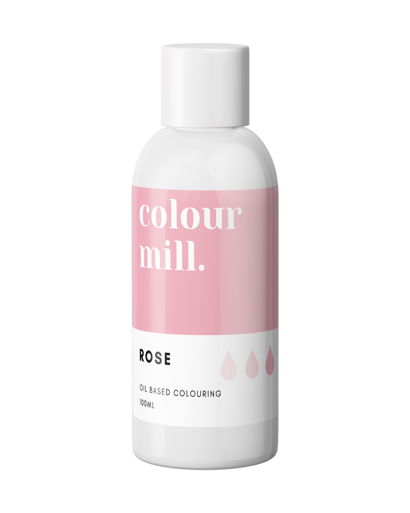 Oil Based Colouring 100ml Rose