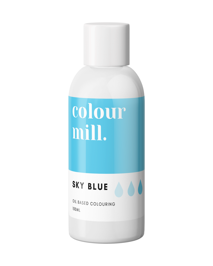 Oil Based Colouring 100ml Sky Blue
