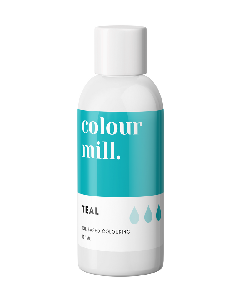Oil Based Colouring 100ml Teal