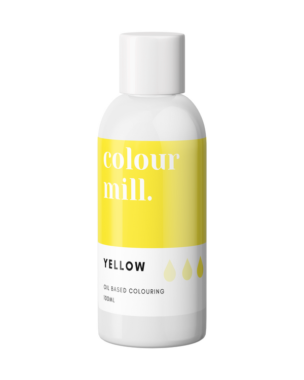 Oil Based Colouring 100ml Yellow