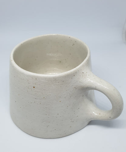 Abbie Gardiner small white cup