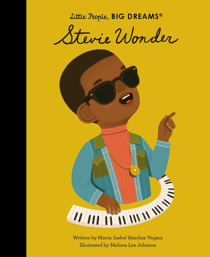 Little People Big Dreams Stevie Wonder children's book