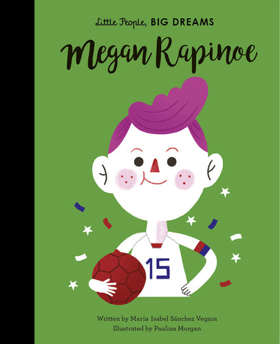 Little People Big Dreams Megan Rapinoe children's book