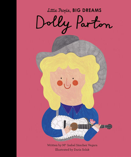 Little People Big Dreams Dolly Parton children's book