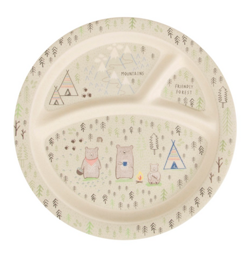 Bear Plate Children's