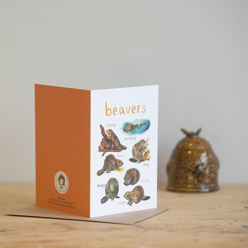 Sarah Edmonds beaver card