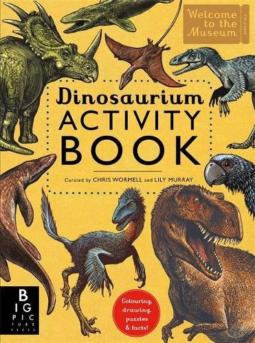 Dinosaur Children's Activity Book