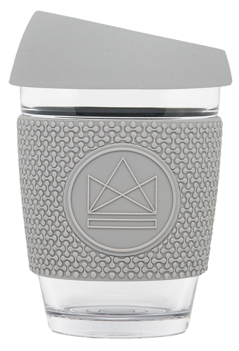 Neon Kactus Reusable Coffee Cup - Grey