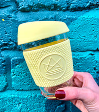 Load image into Gallery viewer, Neon Kactus Reusable Coffee Cup - Yellow
