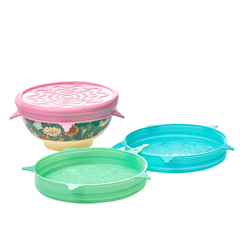 Reusable Silicone Lid - Medium - Ice Blue
