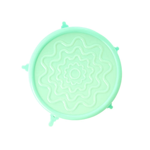 Silicon Bowl Lid - Mint Green - Medium
