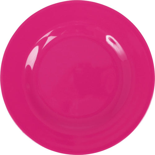 Melamine - Bright Pink Plate