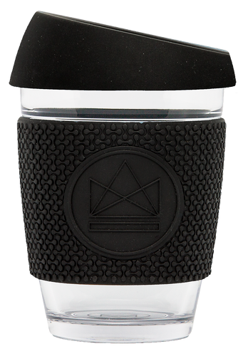 Neon Kactus Reusable Coffee Cup - Black