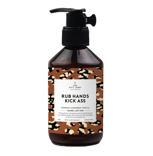 The Gift Label - Hand Lotion - Rub Hands Kick Ass